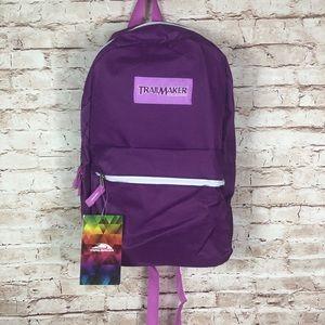 "Classic purple 17"" backpack trailmaker"